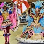 Король и королева карнавала в Бразилии приветствуют Вас!