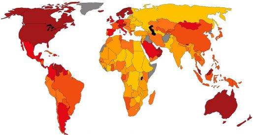 Карта благополучия