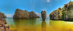 Туры в Таиланд. Пхангнга — залив Андаманского моря, к северо-востоку от Пхукета