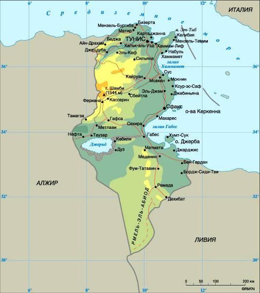 Туниса население туниса архитектура
