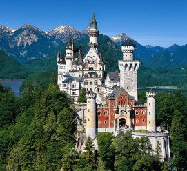 Туры в Баварию. Замок Нойшванштайн