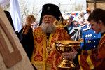 Архиепископ Пантелеимон. Освящение. Пасха в Старочеркасской 2011