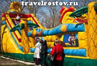 Развлечения для детей. Пасха в Старочеркасской 2011