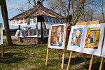 Выставка рисунков. Пасха в Старочеркасской 2011