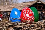 Пасхальные яйца. Пасха в Старочеркасской 2011