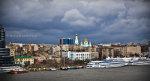 Набережная Ростова с моста на Сиверса