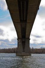 Ворошиловский мост с набережной