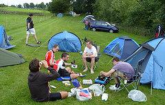 Отдых на Дону с палатками