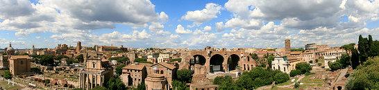 Туры из Ростова в Италию. Панорама Рима